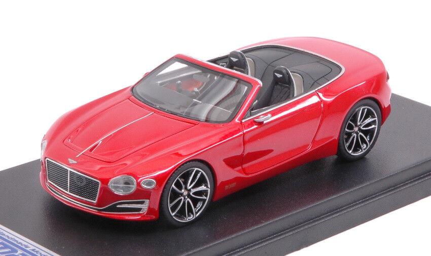 Bentley Exp 12 Speed 6e St.james rosso 1:43 Model LOOKSMART