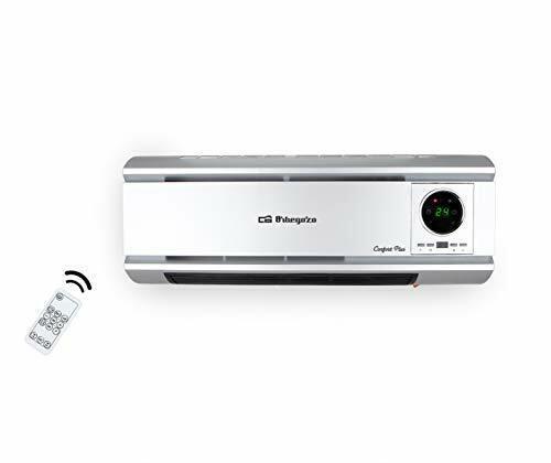 programming Orbegozo SP 6500 register heater fan wall remote control 2000 w