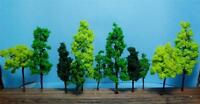 Multi Scale Use-authentic Scale Model Trees-4 Sizes In 3 Colors-14 Pieces Total