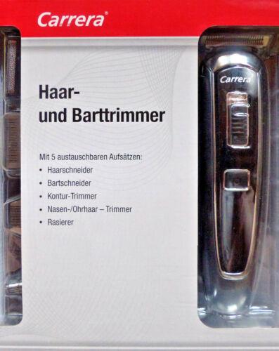 /& Barttrimmer Bartschneider Rasierer Haarschneider //NEU! Carrera AKKU//Netz Haar