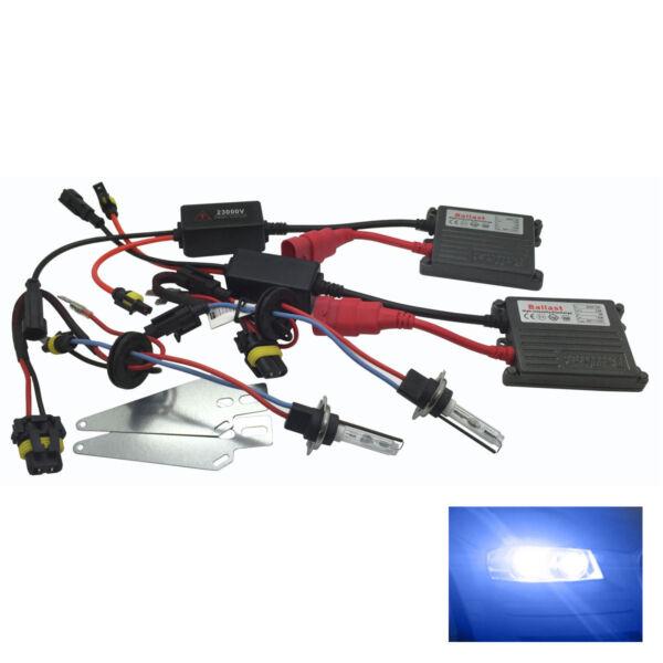 Front Fog Light H3 Pro Hid Kit 10000k Blue 55w Fits Fiat Rthk4090 Mooie Glans