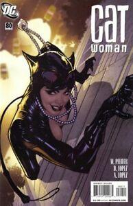 DC-Catwoman-80-Comic-Adam-Hughes-Cover-1st-Print-Low-Print-Run-NM-9-2