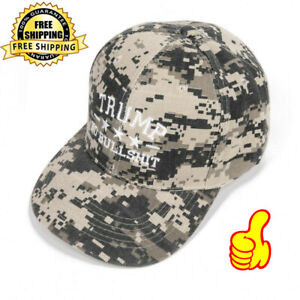 Donald Trump 2020 MAGA Camo Embroidered Hat Keep Keep America Great Again Caps