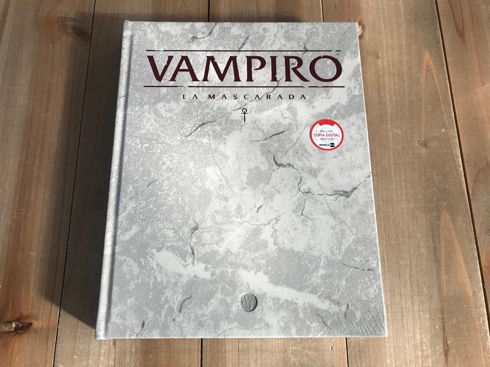 Vampiro La Mascarada - Básico DELUXE - Quinta Edición - V5 - Rol - Nosolorl