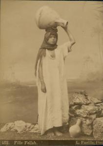 L-Fiorillo-Egypte-Fille-Fellah-Vintage-albumen-print-Tirage-albumine-1