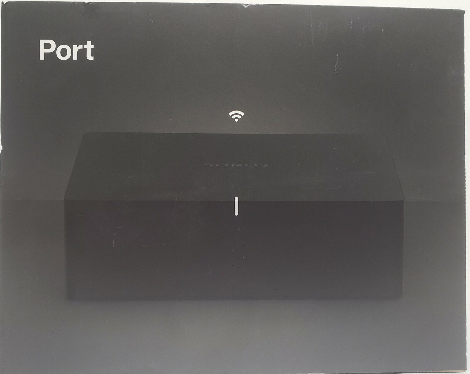 Sonos - Port Streaming Media Player - PORT1US1BLK media player port port1us1blk sonos streaming