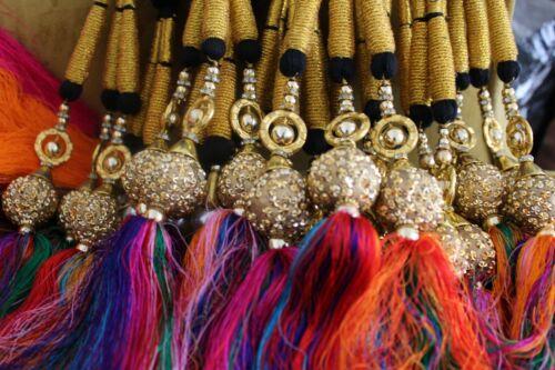Various Paranda Parande Mehendi Sangeet Maiyoon Hair Braids Punjabi Weddings
