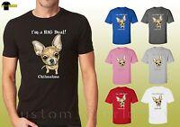 Chihuahua Design Shirts Funny Puppy Chihuahua Lovers Dog Unisex T-Shirt 19644hd4