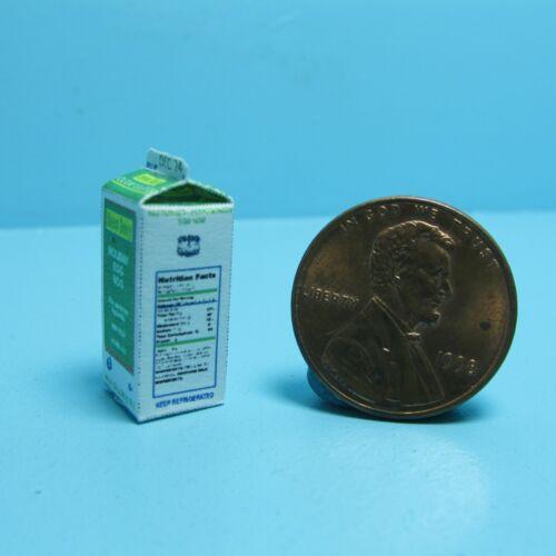 Dollhouse Miniature Christmas Holiday Egg Nog Carton TIN1107