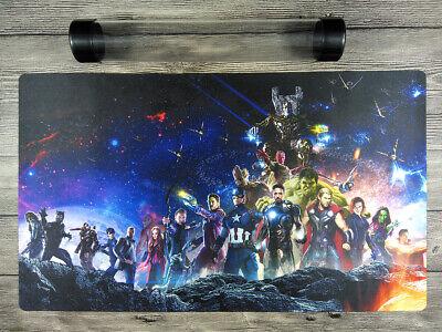 Marvel Villains Duel Battlefield Mat Custom YuGiOh//MTG//VG Playmat Free Best Tube
