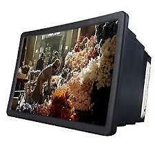 NEW BOX SHAPED Mobile Phone 3D Screen Magnifier 3D Video Screen Amplifier