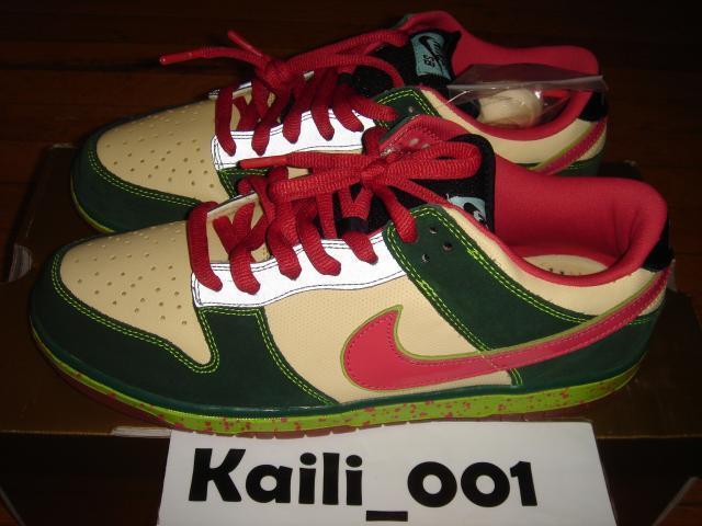 Nike Dunk Low Premium SB Size 11.5 Mosquito 313170-761 Supreme B