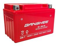 Replacement Battery For 2011-05 Hyosung Gv250 Btx9-bs 4 Year Warranty Smf