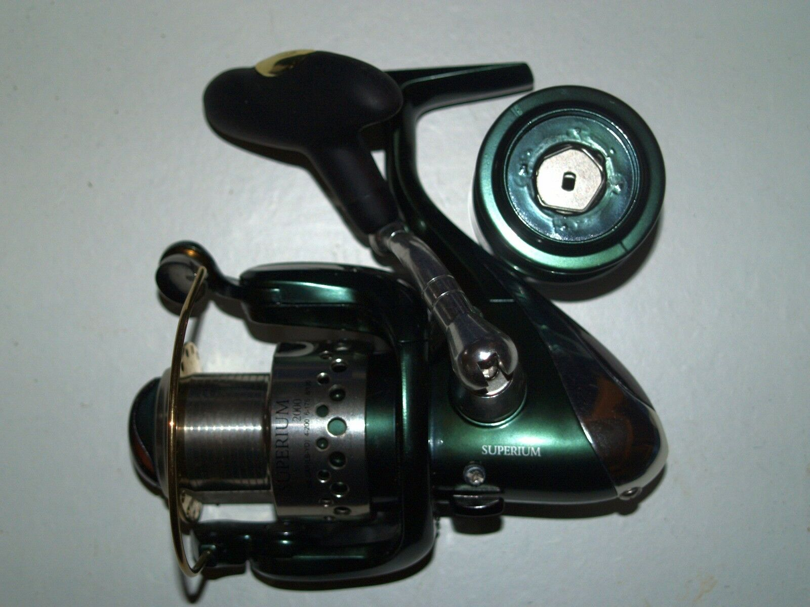 ULTIMATE ULTIMATE ULTIMATE SUPERIUM 2000 FIXED SPOOL REEL. e226a1