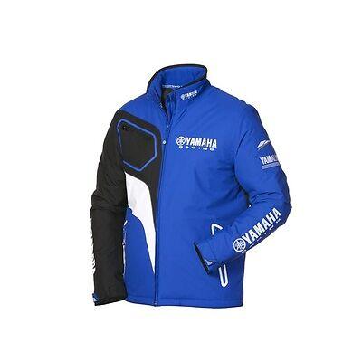 Official Yamaha Racing Paddock Blue Men's Padded Jacket