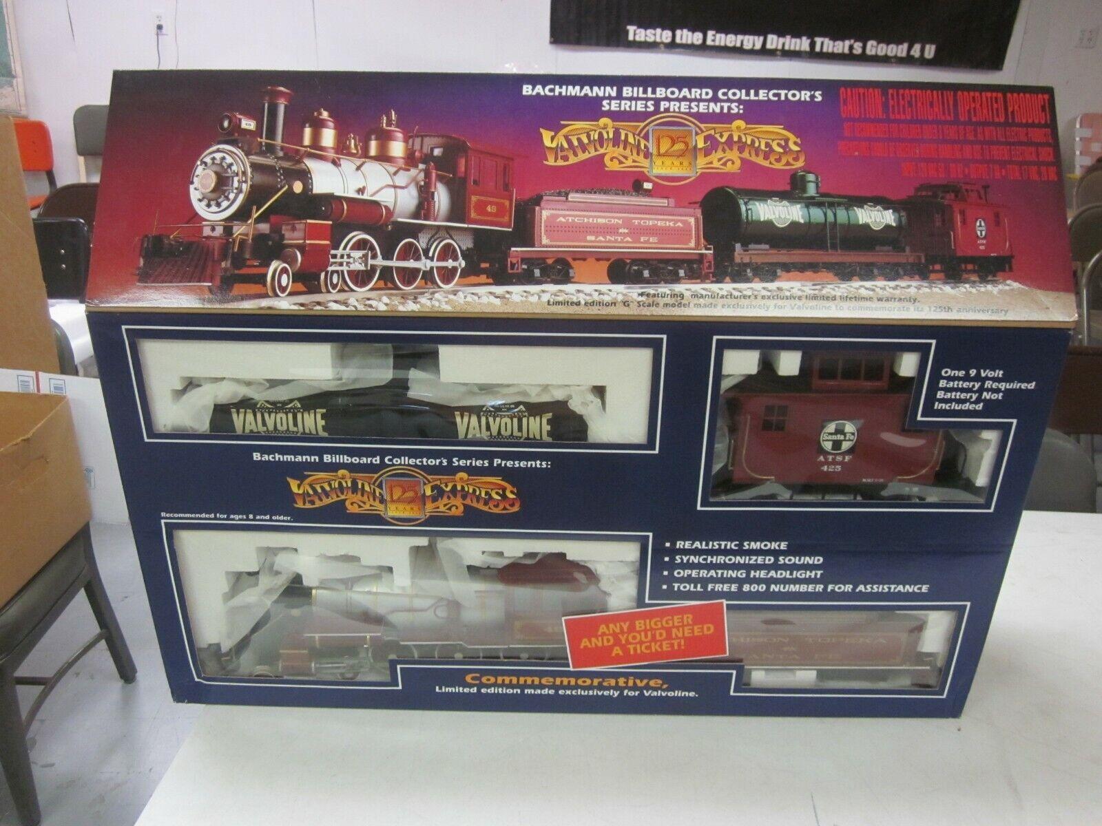 Valvoline Express, Collector's Series Train Set, Edición Limitada Nuevo En Caja