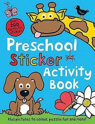 1 of 1 - Preschool Sticker Activity Book (Sticker Book), Roger Priddy, Very Good Book