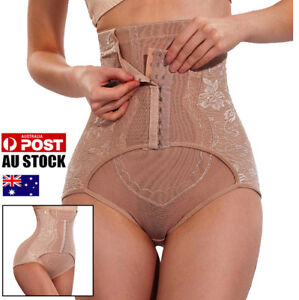AU-Tummy-Control-Shapewear-High-Waist-Panty-Butt-Lifter-Women-Shorts-Body-Shaper