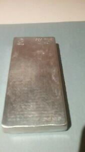 1 Kilo Zinc Bullion Bar