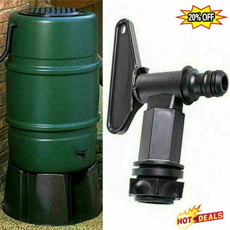 Replacement Water Butt Tap Hozelocks Barrel Plastic Adaptors Beer Home Tools