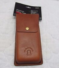 "Leather Front Loading 2.3"" x 5"" x 9"" Pouch Great For Scouting Leather Project"