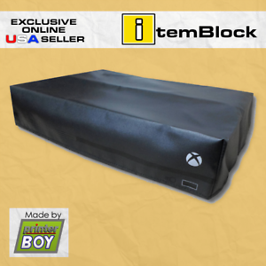 XBox-One-X-Black-Console-System-Dust-Cover-Exclusive-eBay-US-Seller