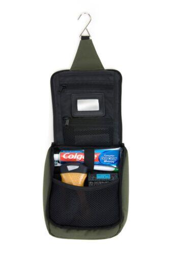 Essentiel Kit en Vert Par Ultra Léger Voyage Trousse de Toilette Camping
