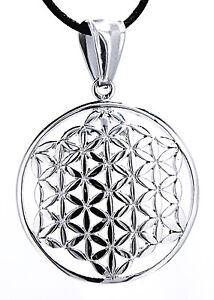 100% QualitäT Blume Des Lebens Anhänger Edelstahl Flower Of Life Harmonie Nr. 106