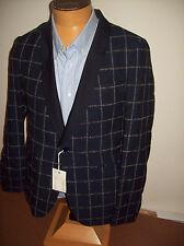 Gant Rugger Shawl Collar Windowpane Wool & Cotton Blend Sport Coat NWT 40R $695