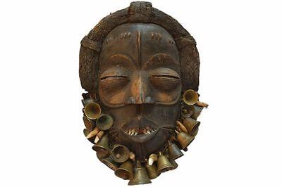 48) Dan Yakuba Maske Afrika Alt / Masque Dan Yacouba Ancien / Old Dan Mask