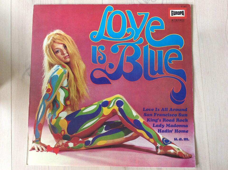 LP, Blandet, LOVE IS BLUE