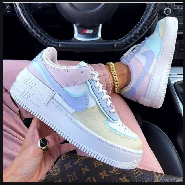 Size 10.5 - Nike Air Force 1 Shadow Pastel for sale online   eBay