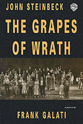 The Grapes of Wrath. Playscript by Steinbeck, John (Paperback book, 2002)