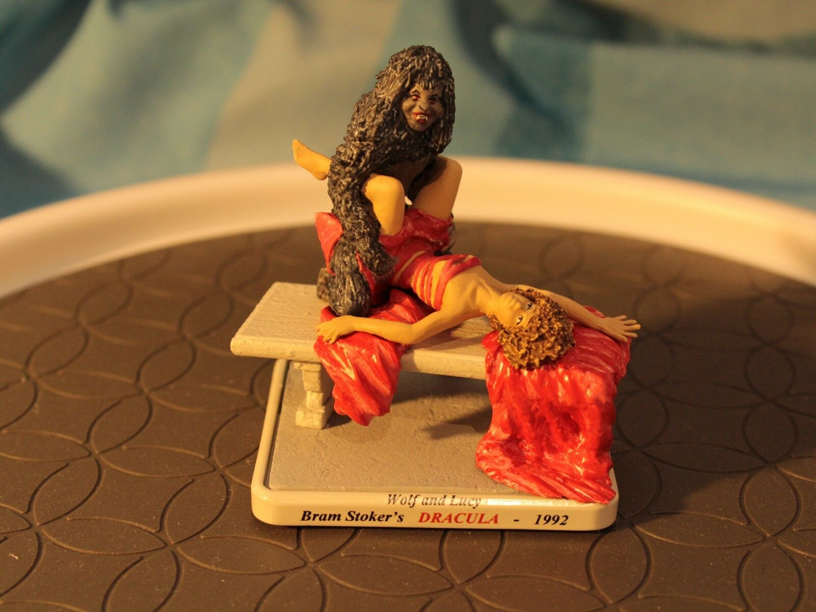 Dracula Wolf and Lucy 75mm Painted Downtoscale