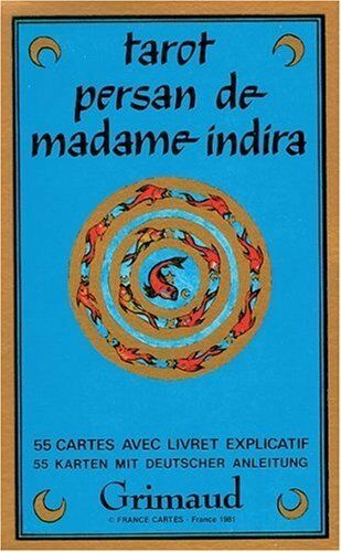 Tarouge Persan de Madame Indira - 55 Cartes  Livret (Persian Tarouge)