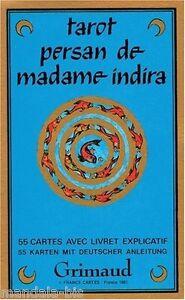 Tarot Persan de Madame Indira 55 Cartes (Persian Tarot)