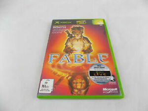 Mint-Disc-Xbox-Original-Fable-1st-Game-First-PAL-Free-Post-Works-on-Xbox-360