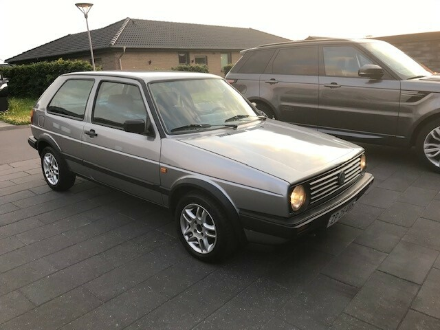 VW Golf II, 1,6 CL aut., Benzin, 1990, km 169000,…