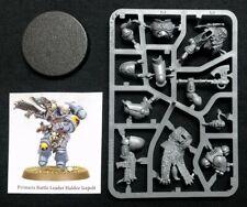 40K Haldor Icepelt Primaris Battle Leader Space Wolves Marines Lieutenant Wolf