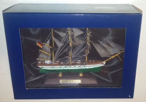 Segelschiffe De Agostini Gorch Fock Modell Holz 12cm