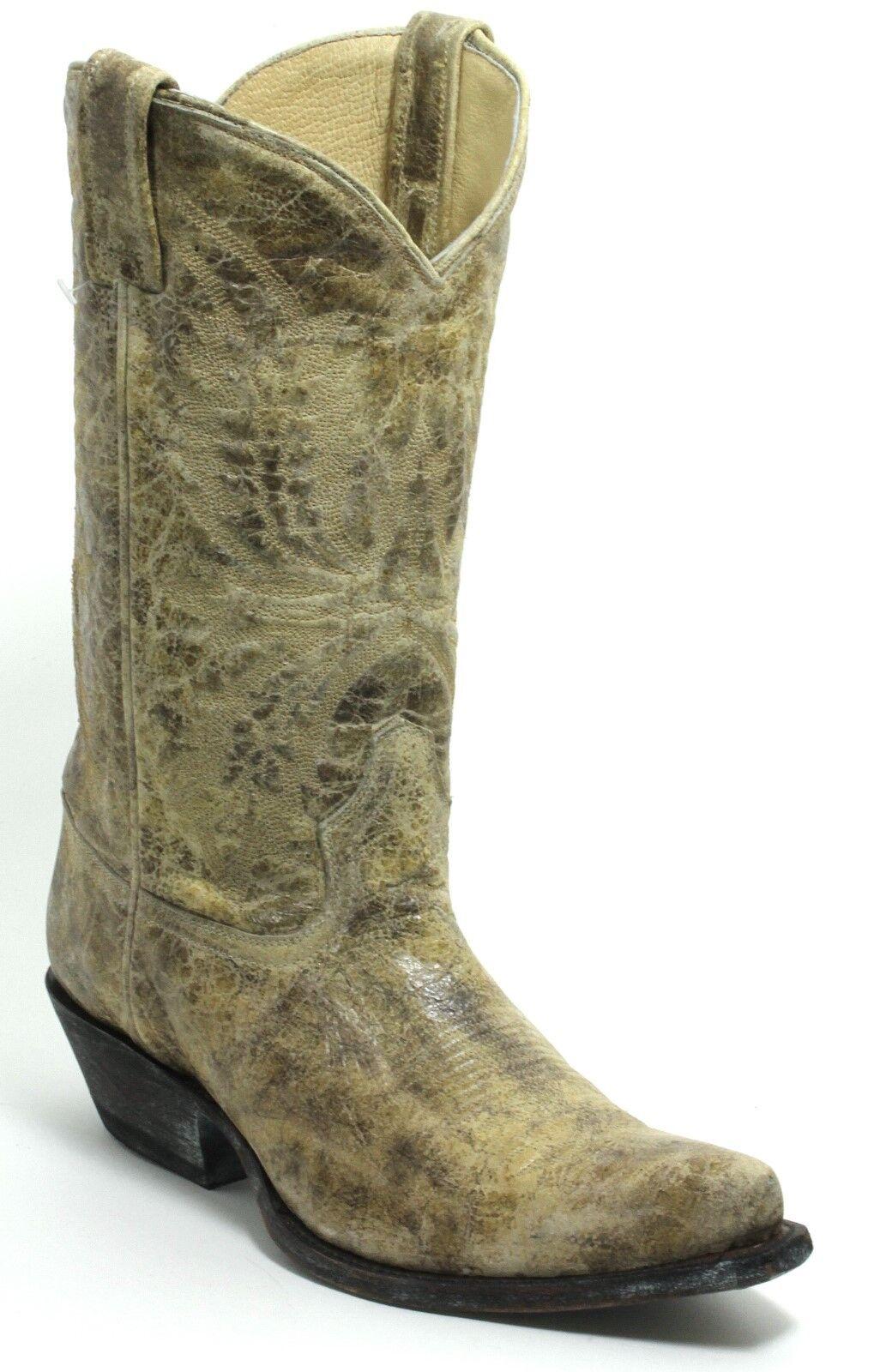 129 botas de de de vaquero Western botas botas de Texas Western cuero American Bull 39  tienda de descuento
