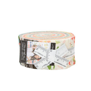 Summer-Sweet-Jelly-Roll-Moda-40-2-5-034-Cotton-Quilting-Fabric-37580JR