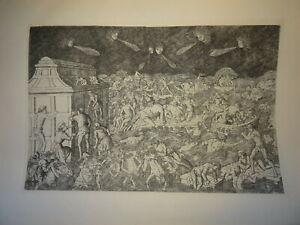 Baccio-BALDINI-1436-1487-GRAVURE-RENAISSANCE-JUGEMENT-DERNIER-FIRENZE-ITALIE