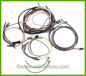 ar21125r * john deere 730 diesel wiring harness* electric start obd0 to obd1 conversion harness image is loading ar21125r john deere 730 diesel wiring harness electric