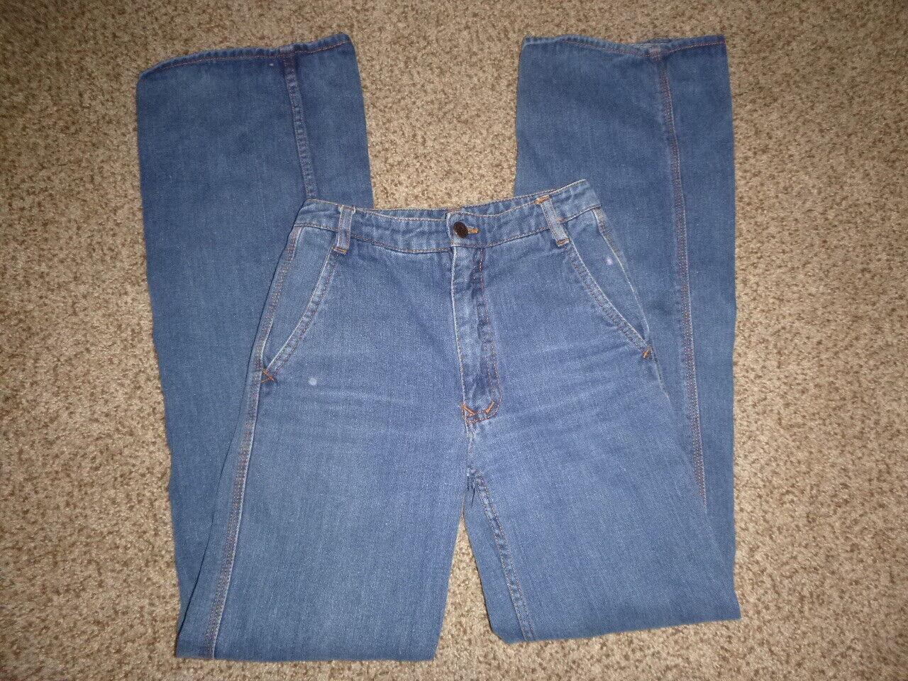 Vtg Nest N'est ce Pas 1970s Denim Jeans High Wais… - image 2