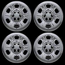 "4 CHROME 05-16 Nissan Frontier Xterra 16"" Wheel Skins Hub Caps Covers Simulators"