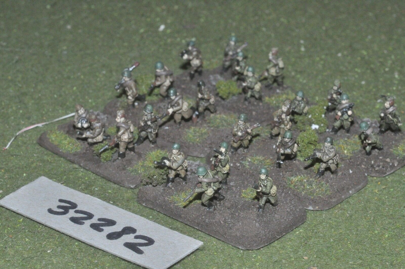 15mm WW2   russian - section 26 figures - inf (32282)