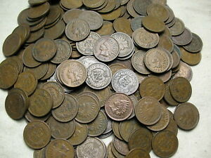 EXTRA-FINE-INDIAN-HEAD-CENT-PENNY-LOT-1-COIN-PER-BID-FREE-SHIPPING-MAKE-AN-OFFER