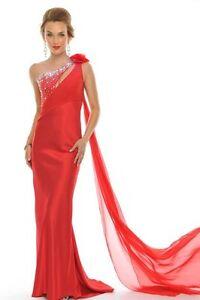 44601ec9da5 Precious Formals style 20903 Red Size 4 -Prom-Military Ball-Home ...