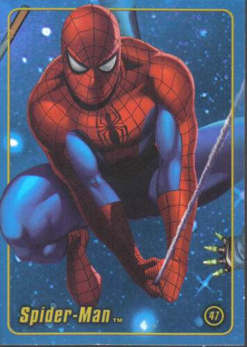 MARVEL FIGURE FACTORY SERIES 1 TRADING CARD NUMBER 47
